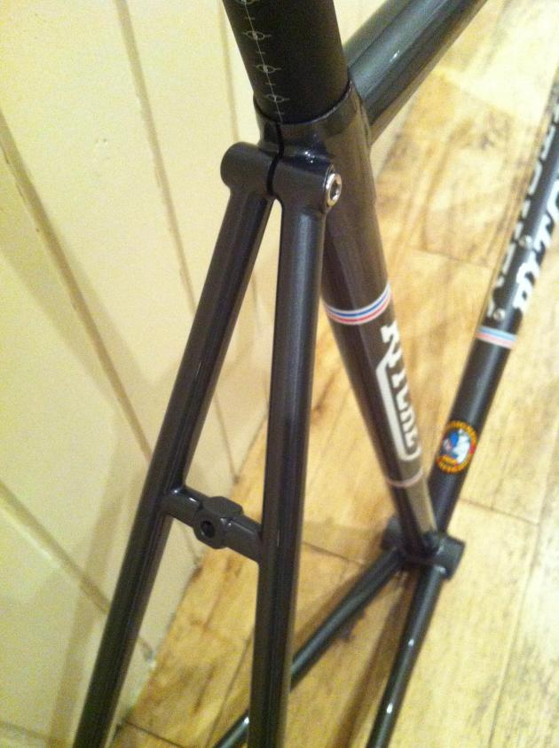 Ritchey Road Logic seat tube and stays