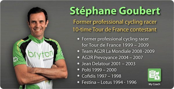 Let Stéphane Goubert sort your training!