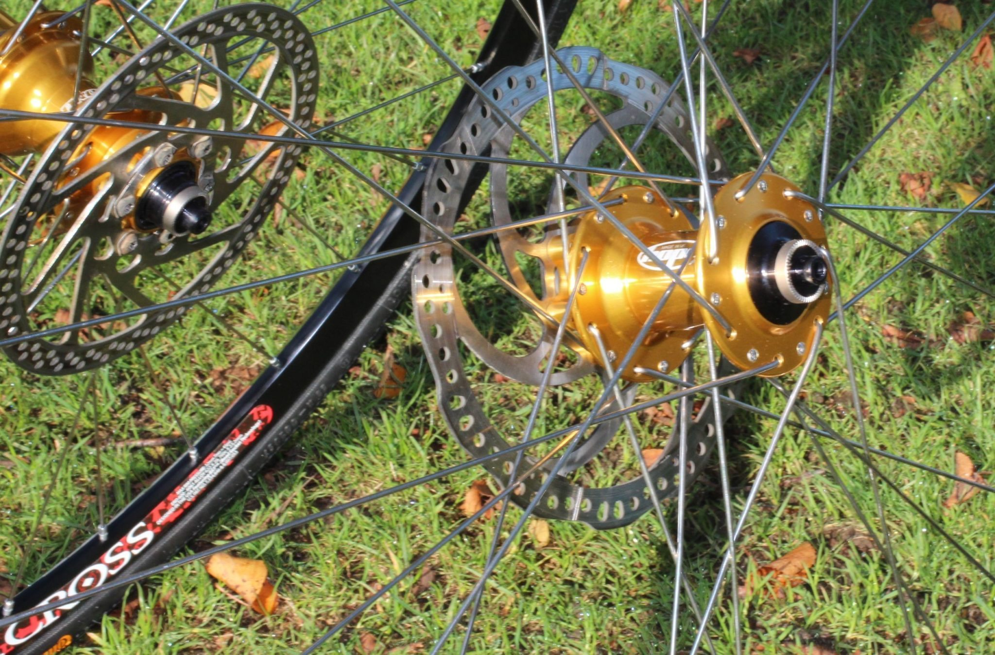 Cyclocross and Road Disc Wheelsets