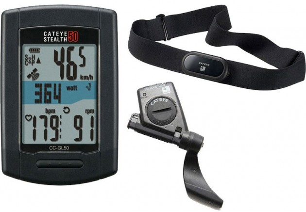 Cat Eye Stealth 50 GPS ANT+ Cycling Computer CC-GL50