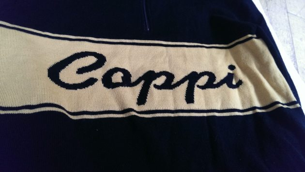 Coppi! Knitted in merino wool...