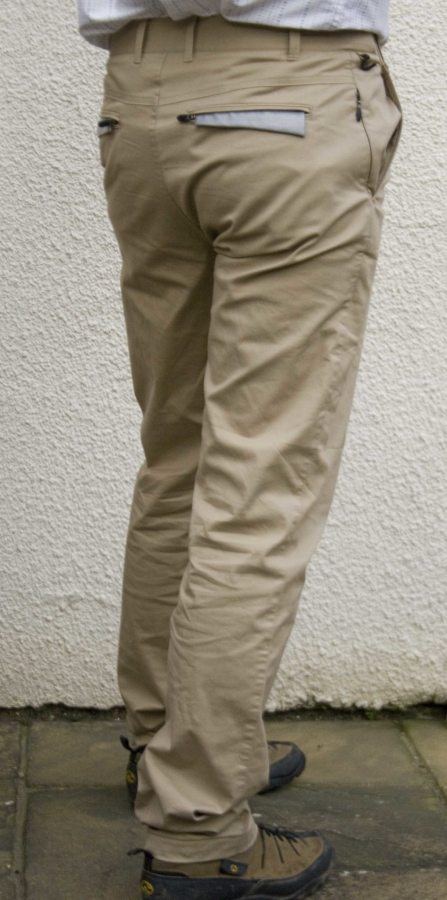 Rear view of the Chinos