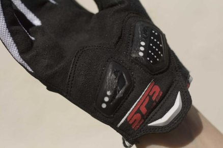 Scuffed Knox Scaphoid Protection System (SPS) after trying to replicate a crash