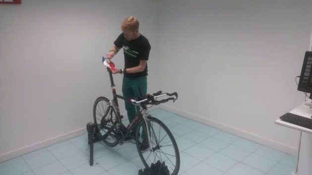 Saddle adjustment is of course a major part of any bike fit