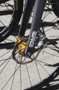 Enve Fork and Avid Disk on Boo road bike