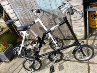 The black Nanoo has gone to Ed Owen who usually commutes on board a Brompton...
