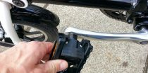 Folding pedals need to be snapped back into a usable position