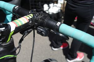 Vanmarke had climbers shift buttons and CX brake levers