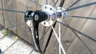 Cromoly skewers and Amercian Classic Micro 58 front hub