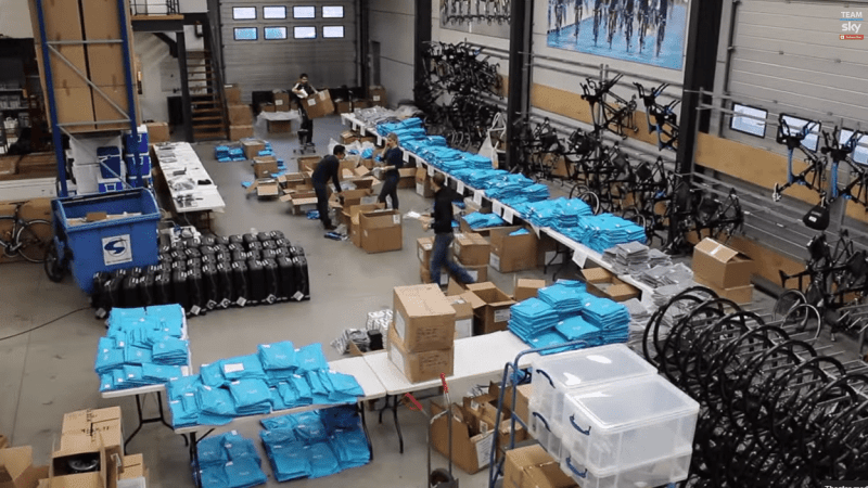 Team Sky Get Kitted Out For 2015