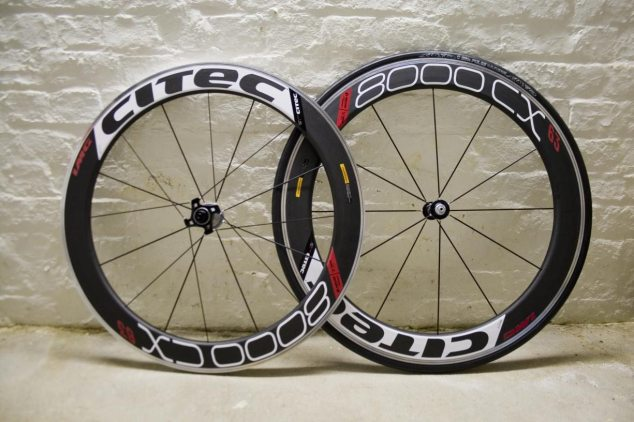 Citec wheels and Tufo C Elite Pulse Tyres