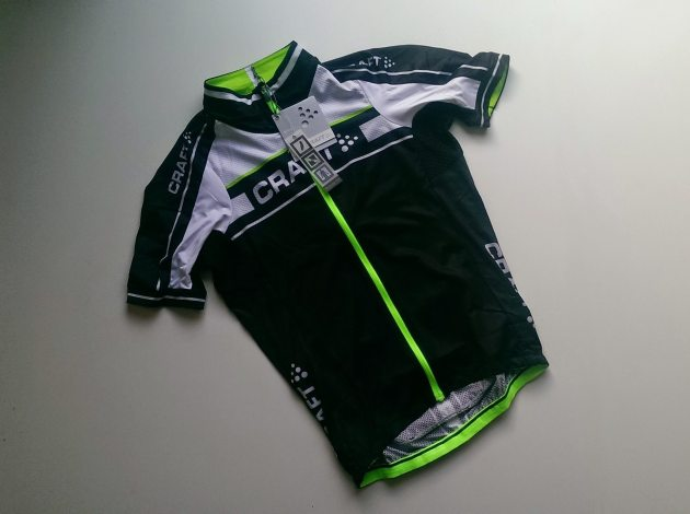 The Grand Tour Jersey from Craft is lightweight and looks good
