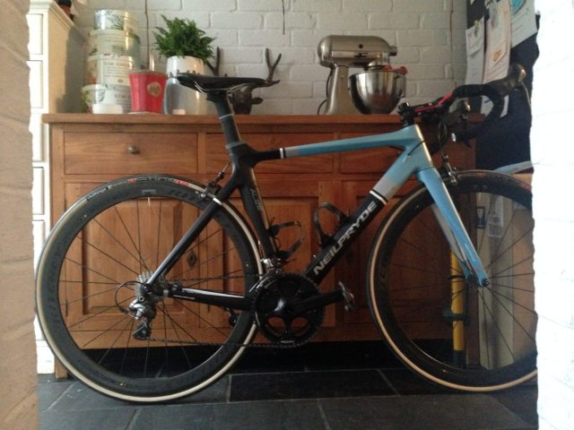 Neil Pryde Alize fitted with Ritchey WCS Apex II wheelset