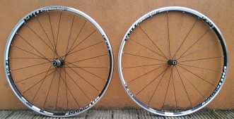 Pro-Lite's Bortola A21W wheelset waits for the tubeless treatment