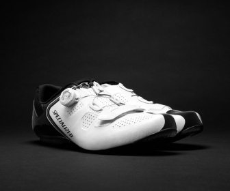 The Specialized Expert Road Shoe, a good value shoe, but keep them clean!