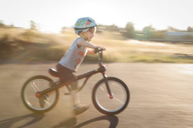 """The Kundo 16"""" Smart Trail bringing a smile to Ross junior"""