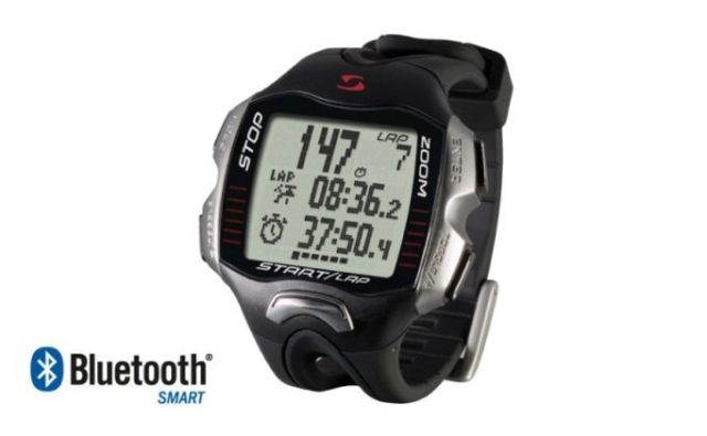 Sigma RC Move is a multisport HRM that can connect to your iPhone for GPS functions, music control and even an audible coach