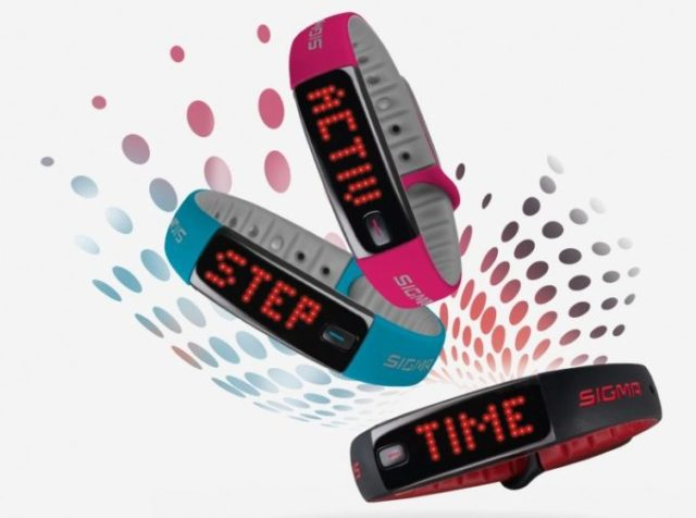 The ACTIVO will keep an eye on you 24/7 recording all your activities and sleep patterns. Helping to motivate you to get out and do more