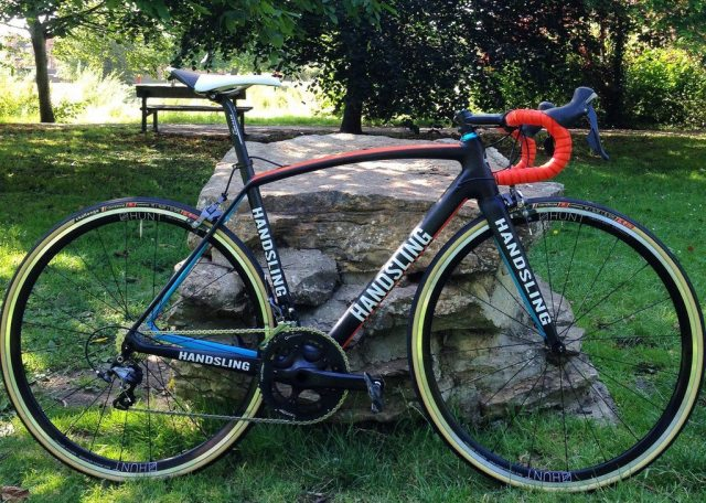 My Handsling RR1 fitted with the HUNT Race Season Aero Wide Wheelset