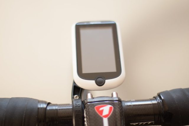 The Bar Fly SLi holds the Magellan firmly in place, no risk of popping out mid-ride