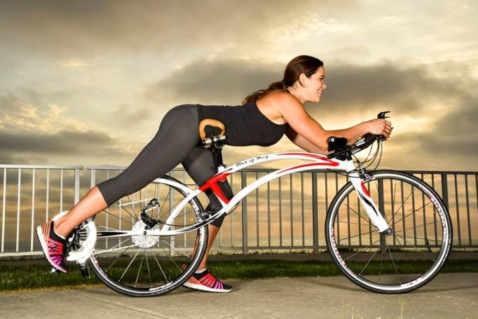 The Bird of Prey bicycle, faster than a standard road bike?