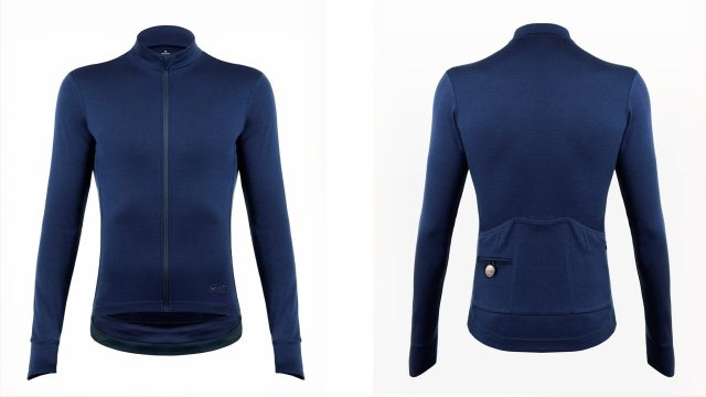 The Svelte Heritage Long Sleeve jersey, classic understated looks and some nice little touches