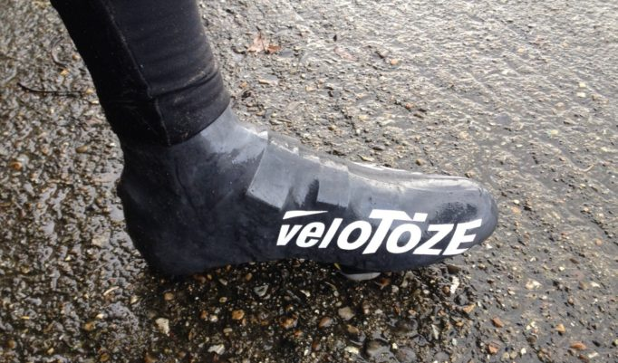 Velotoze Tall Shoe Covers are a simple solution to the age old problem of cold, wet feet