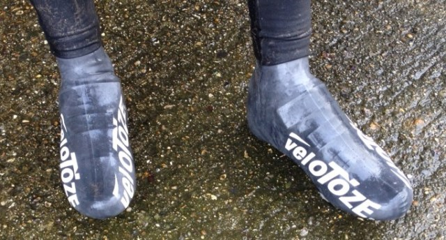 With no zips or buckles the Shoe Covers are very aero