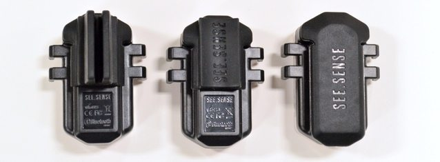 Various fittings are included, letting you attach the SEE.SENSE wherever you need