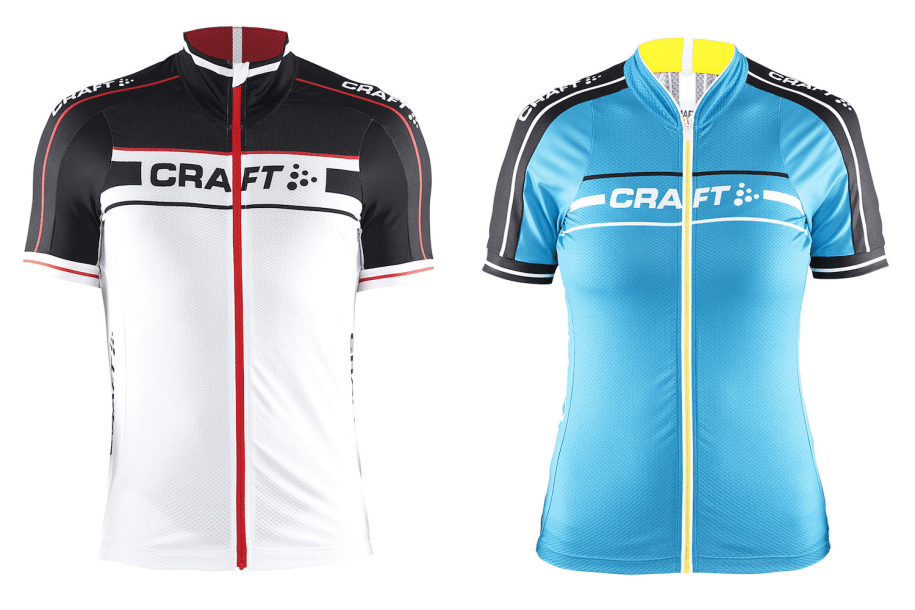 The Craft Grand Tour jersey comes in a male and female fit, each in three colourways, these are some of 2016's colours