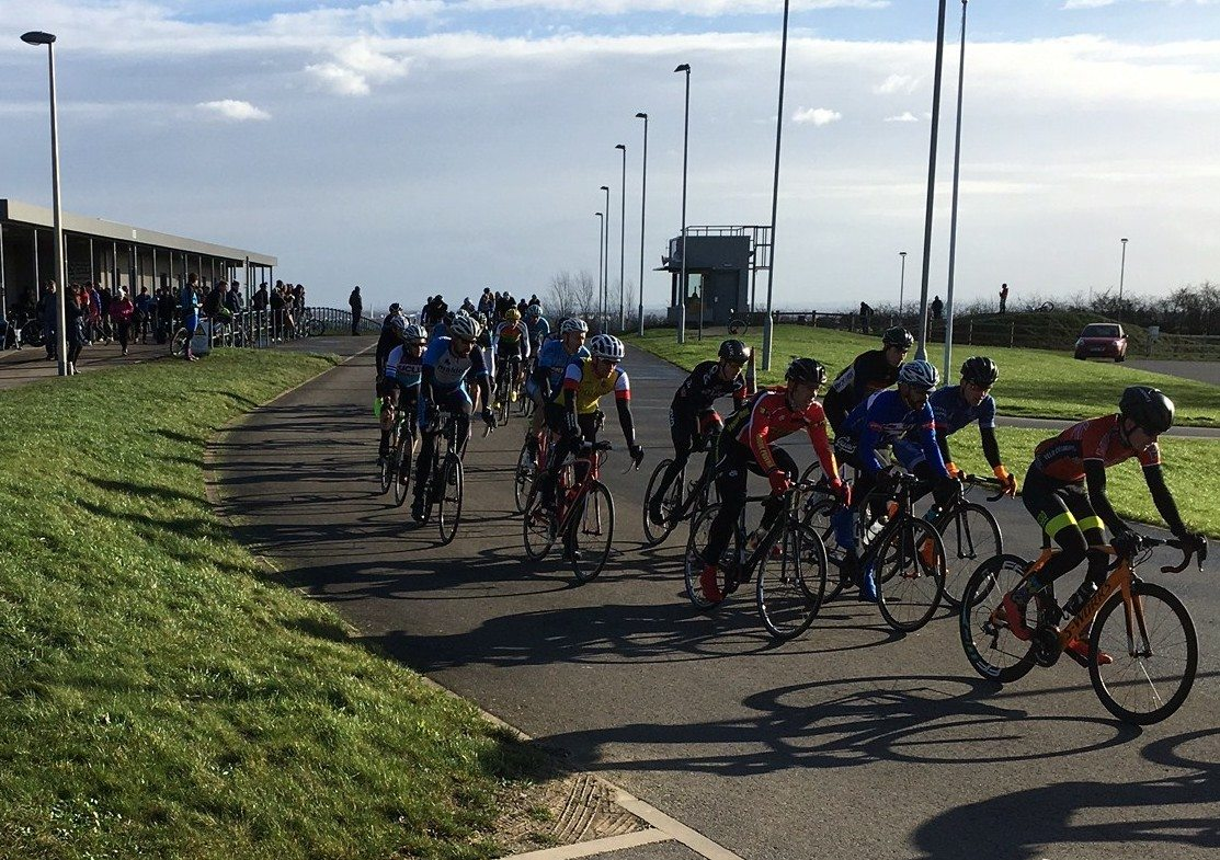 My First Cycle Race
