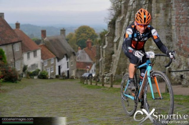 It's not all mud and farm tracks, the CX Sportive Gold Rush takes you up the cobbled climb of Gold Hill