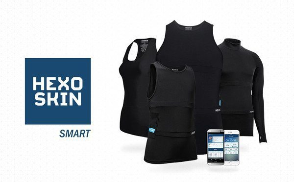The Hexoskin jersey can measure heart rate, breathing rate and volume, how active you are and your sleep patterns