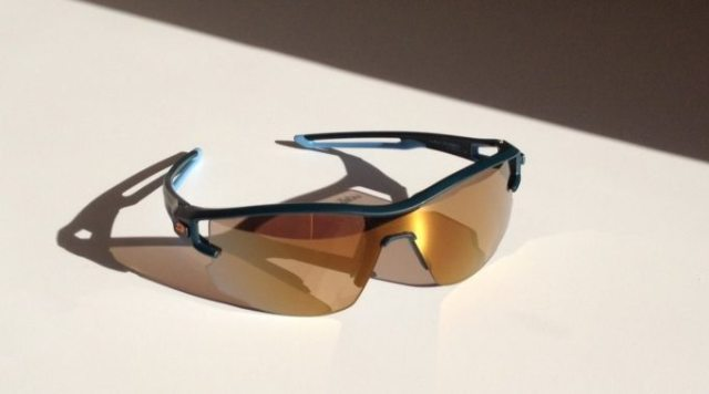 The Julbo Aero with Zebra photochromatic lenses