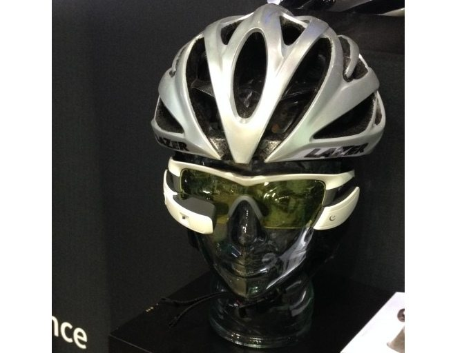 Hardly discreet, but could a cycling HUD improve your ride?
