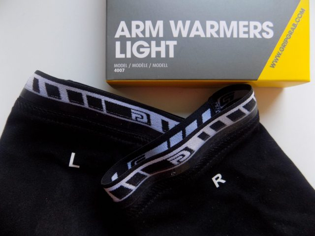 Gripgrab have thoughtfully added L and R to their leg and arm warmers, preventing early morning confusion