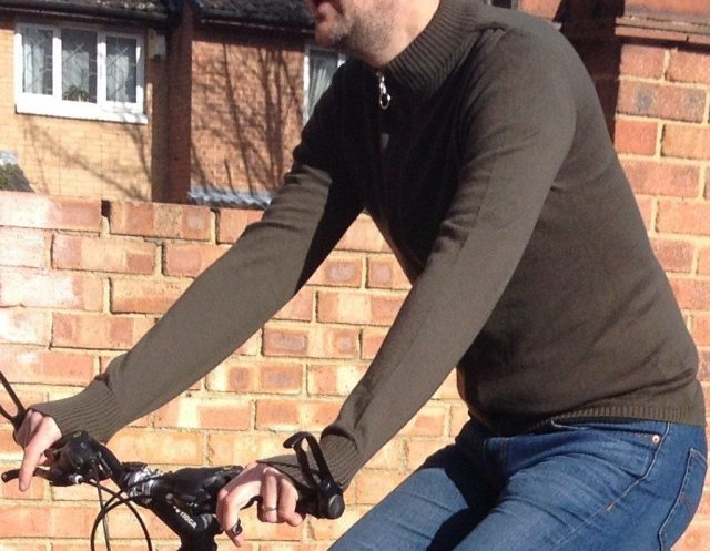 The Suffolk Track top hides it's cycling credentials