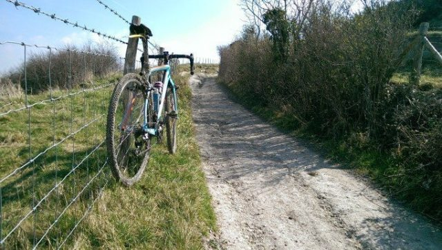 What bike to use? For me it's always my trusty Handsling CXC