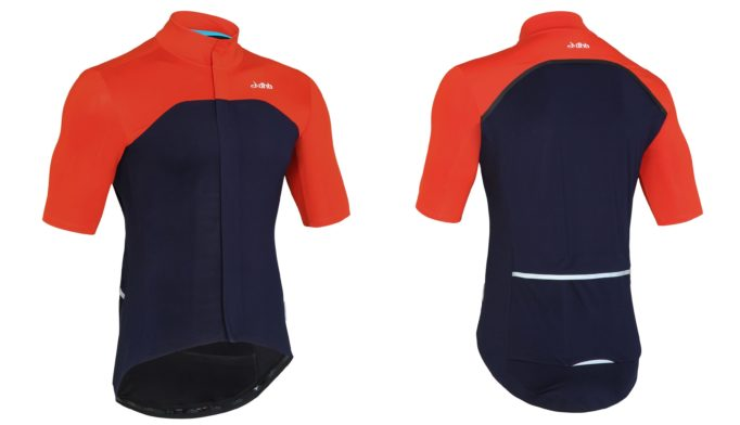 The Aeron Rain Defence Short Sleeve Jersey, designed to keep you riding, no matter the weather