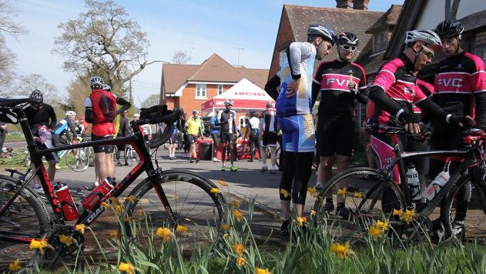 Everyone enjoys a good feed stop, just don't spend too long there! Photo courtesy of Wiggle