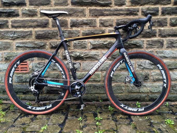 The Handsling CXD looks ready for the 54th Three Peaks 'cross race