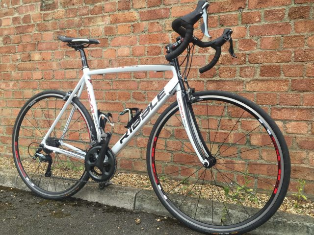 The Ribble Bike Builder allows you to choose exactly what goes on your bike; you could bling this frame for £3214!