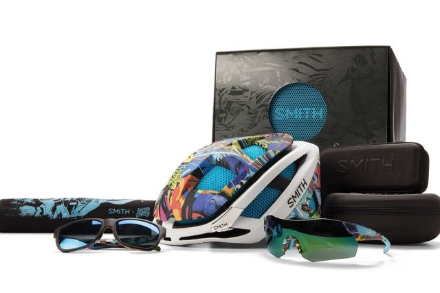 The Smith Special Edition Products from Smith have been given the Rio touch by Brazilian artists Bicicleta Sem Freio