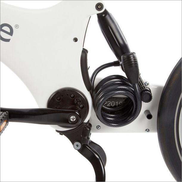 The Shocklock is ok if you are close to your Gocycle, but you wouldn't want to leave it unattended for too long