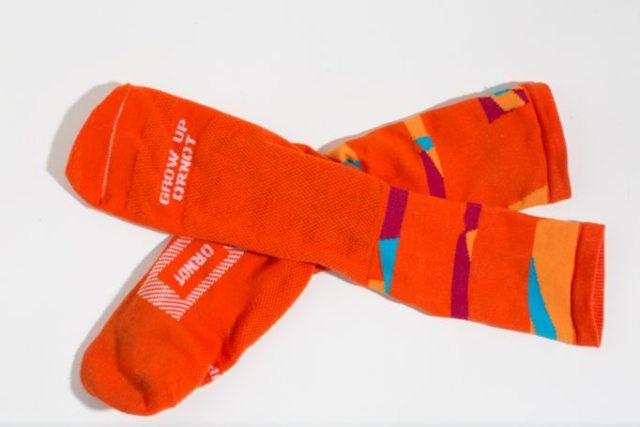 The Ornot socks occupy the Goldilocks Zone; not too long and not too short