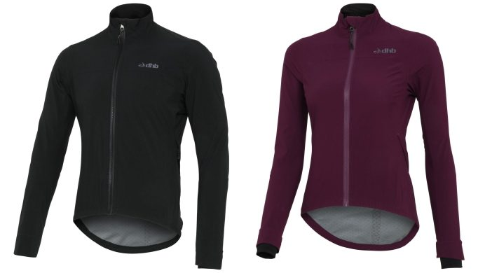 dhb's Aeron Storm Waterproof Jacket is their most advanced jacket so far and like most of dhb's range comes in male and female specific item