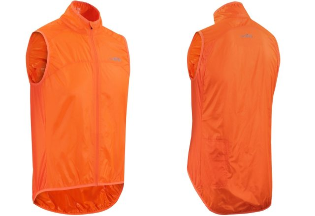 The Aeron Super Light Packable Windproof Gilet is a featherweight item and will squash down into a tiny package