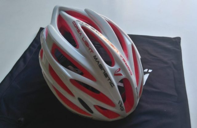 Ekoi's Corsa Light claims to be the lightest helmet out there, but just how light?