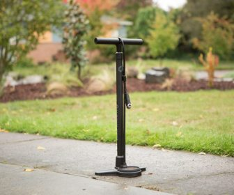 The Blackburn Piston 3 floor pump impressed with it's quality and price