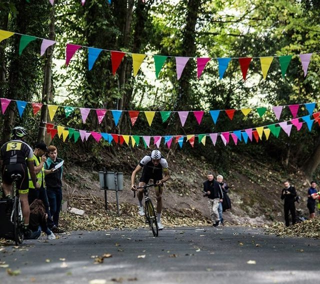 The bunting was out for the first running of the Velopace Hill Climb